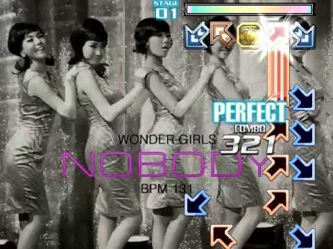OLD Stepmania [AMX] - Wonder Girls - Nobody - Single 15