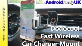 Dodocool Wireless Car Charger Air Vent Mount