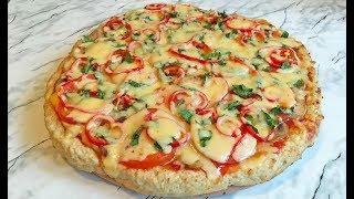 пицца Без Теста / Мясная Пицца / Meat Pizza / Домашняя Пицца / Homemade Pizza