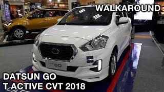 Datsun GO 1.2 T Active CVT 2018 | Exterior & Interior Walkaround