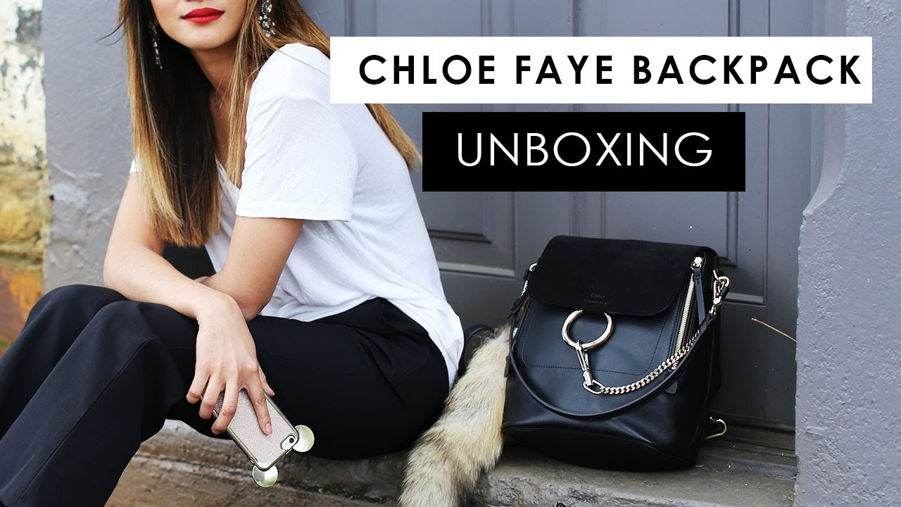 fb9c827fbed3 Impulse Buy! Chloe Faye Backpack unboxing + first impressions - YouTube