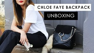 Impulse Buy! Chloe Faye Backpack unboxing + first impressions