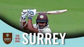 Kumar Sangakkara makes 101 against Northamptonshire