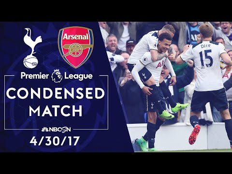 Premier League Classics: Tottenham V. Arsenal   CONDENSED MATCH   4/30/17   NBC SPORTS