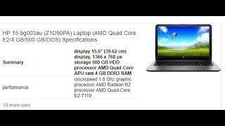 budget laptop under 20000 HP Notebook - 15-bg003au