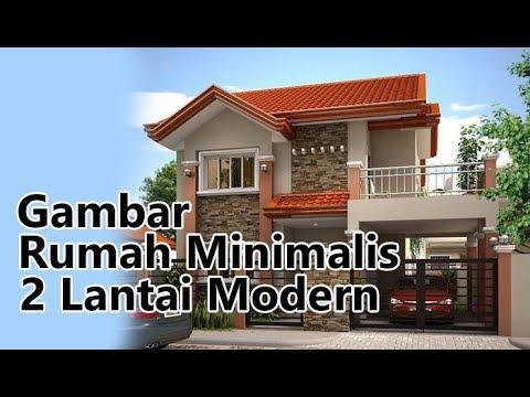 Gambar Rumah Minimalis 2 Lantai Type 45 Dan 36 Sederhana Modern Tampak Depan Youtube