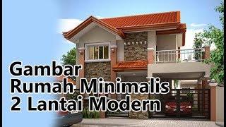 Gambar Rumah Minimalis 2 Lantai Type 45 Dan 36 Sederhana Modern Tampak Depan By Griya Twinza