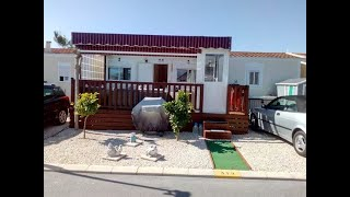Aitana Residential Parkhome For Sale On Camping Almafra Resort, Benidorm, Costa Blanca, Spain