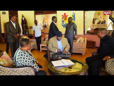 Rais Mstaafu Benjamin Mkapa, amechukua time yake kwenda kurelax Simiyu