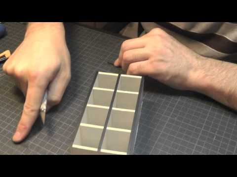 Scale Model Tips - Creating Curtain Walls