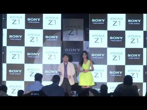 Sony Xperia Z1 Launch with Katrina Kaif