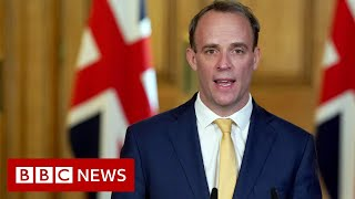 Raab: PM Johnson is a fighter and will recover - BBC News