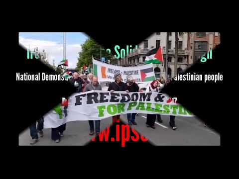 National Demonstration for Freedom & Justice in Palestine (Dublin, 10.06.17)