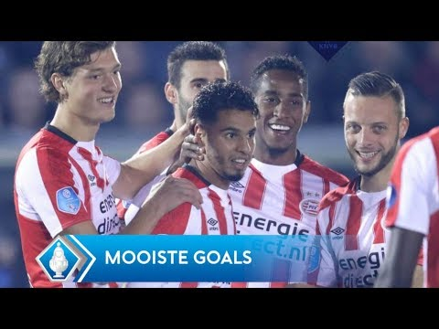 Eerste ronde KNVB Beker: de mooiste goals