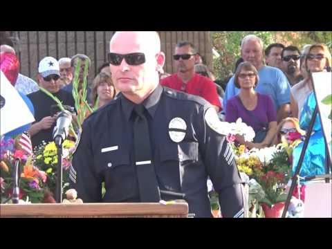 Police Vigil for Officers Vega and Zerebny