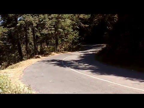 Accidente en curva de moto italika ws 150