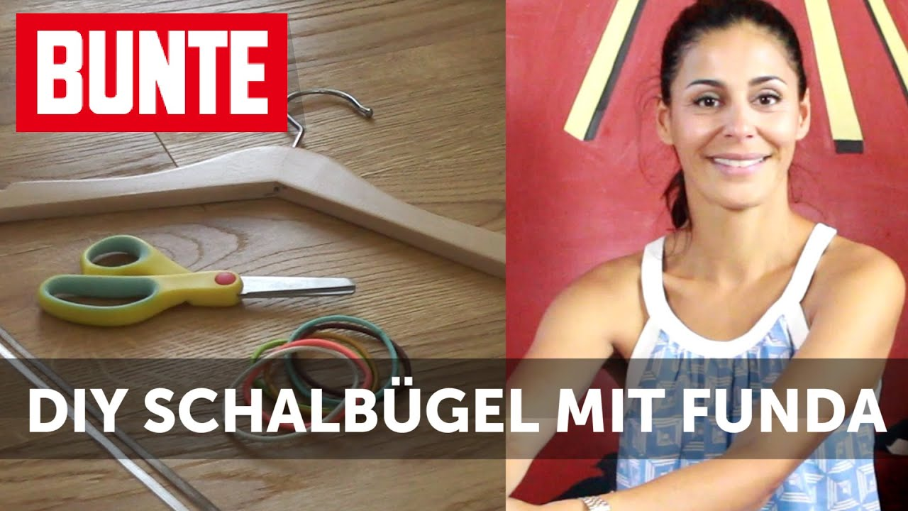 DIY Schalbügel - Ordnung im Kleiderschrank in 10 Minuten! - #FragFunda - BUNTE TV