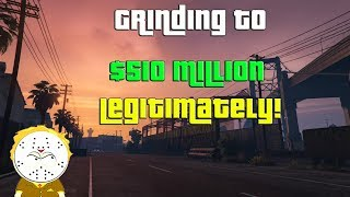 GTA Online Grinding To $510 Million Legitimately And Helping Subs