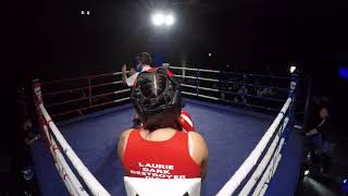 Ultra White Collar Boxing | Walsall | Laurie Dunn VS Killer Kelz