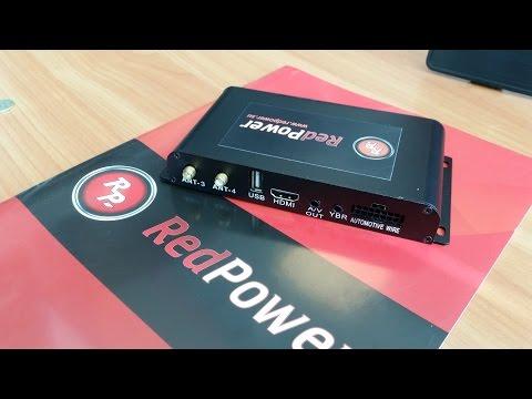 Лучший автомобильный Dvb-t2 тюнер 4 антенны DT9 Redpower