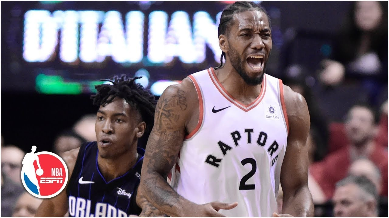 Kawhi Leonard scores 27 in Game 5, Raptors advance past Magic to the second round | NBA Highlights