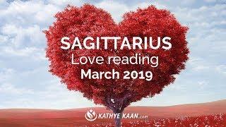 SAGITTARIUS LOVE READING MARCH 2019 | MONTHLY TAROT HOROSCOPE