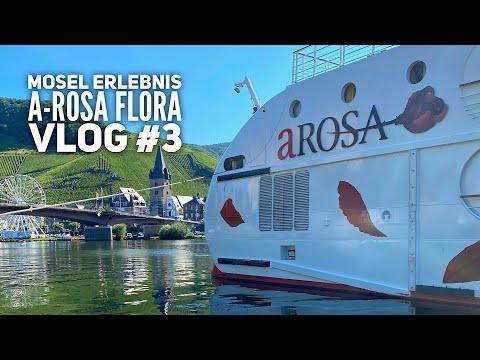 Mosel Kreuzfahrt mit Arosa Flora Vlog# 3: Bernkastel-Kues