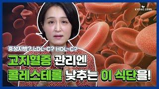 [정식탁] EP.6 만병의 근원, 고지혈증 ? 콜레스테…