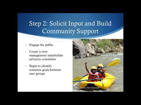 Sustainable River Recreation Management: Benefits, Steps, Funding