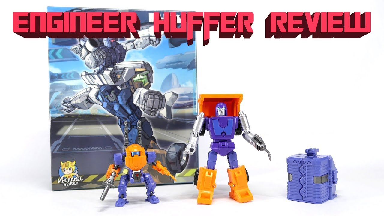 New MS-TOYS MS-B16 Robot Action Figure strong man mini Huffer Transformers toys