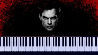 Dexter - House Theme Daniel Licht Piano Tutorial