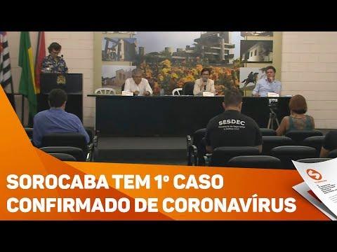 Sorocaba registra primeiro caso de coronavírus na cidade  - TV Sorocaba/SBT
