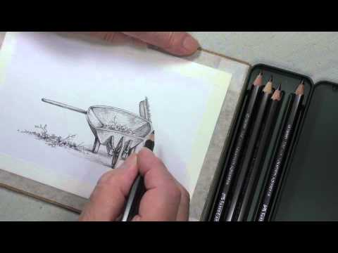 How To Draw with Aquarelle Graphite Pencils | Faber-Castell