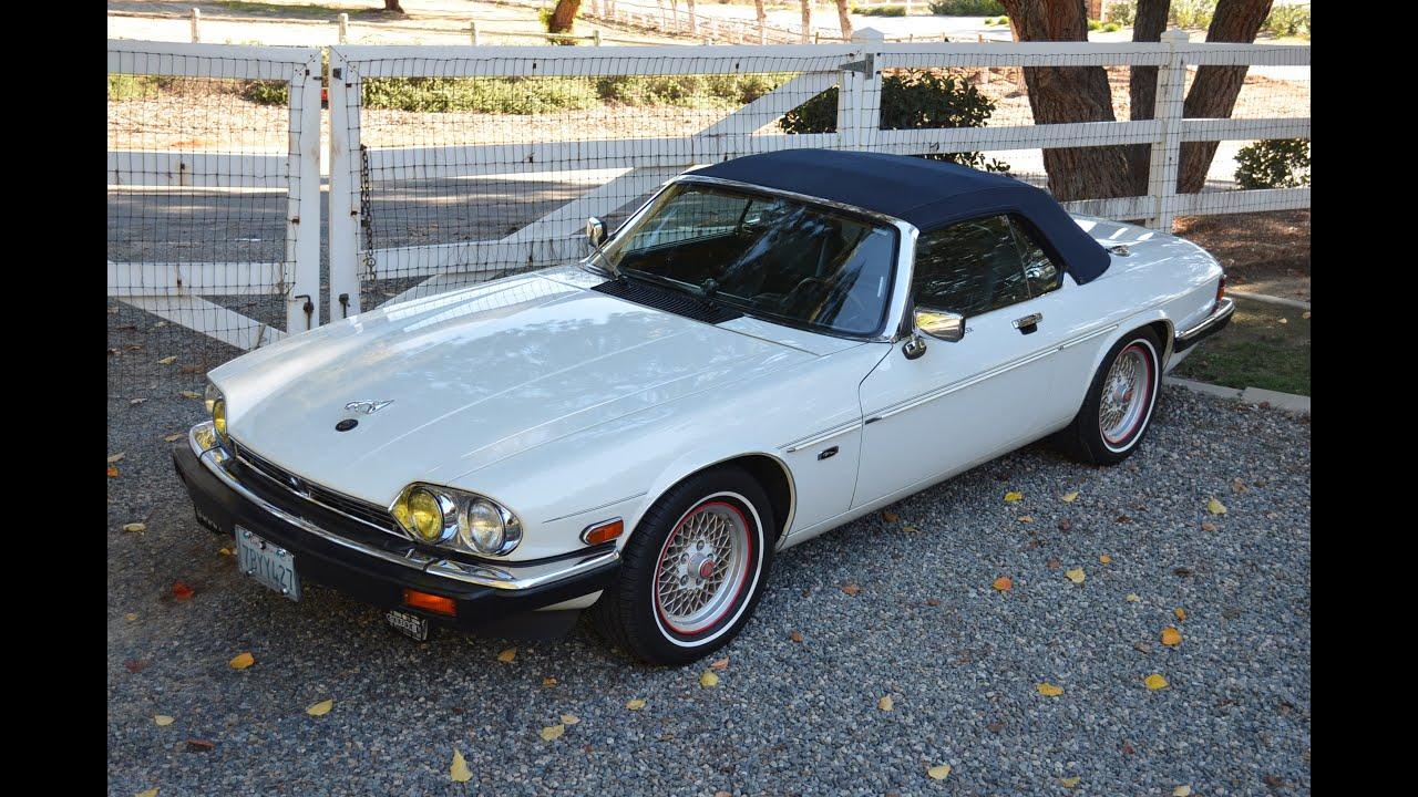 1990 Jaguar XJS Convertible, 52k Miles, Gorgeous, SOLD ...