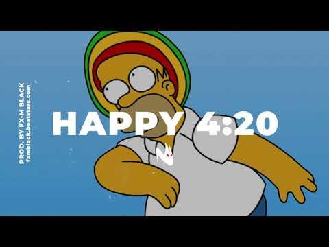 """BASE DE RAP - """"HAPPY 4:20"""" - REGGAE RAP BEAT HIP HOP INSTRUMENTAL (Prod. Fx-M Black)"""