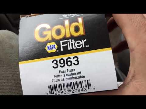 NAPA GOLD    3963    FUEL FILTER