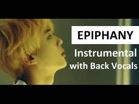 BTS Epiphany Instrumental With Back Vocals