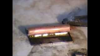 Soldering Copper to Stainless Steel with Superior 520B Flux and Solder Foil