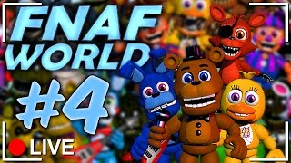 FNAF World Gameplay Walkthrough 6 | THE END! For Now    Five