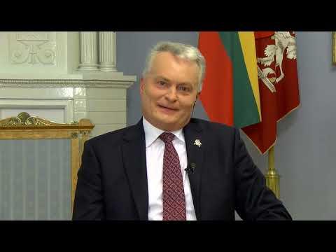 Gitanas Nausėda, President of Lithuania - BBC HARDtalk