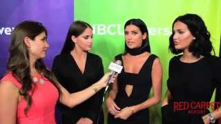 Interview w/ Cast of E!'s #WAGS at NBCUniversal's Summer 2015 Press Tour #TCA15