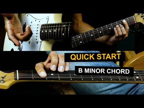 How To Play A Bm Chord On Guitar - 3 Ways To Play A B Minor Chord
