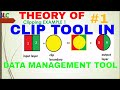 Tutorial#1-Data Management Tool in GIS|How Clip Tools of QGIS works|Attribute table |Figure of Clip