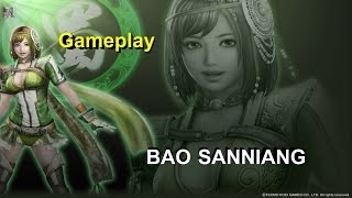 Dynasty Warriors 8 XL - PS4 - Bao Sanniang Gameplay (Ultimate Difficulty)
