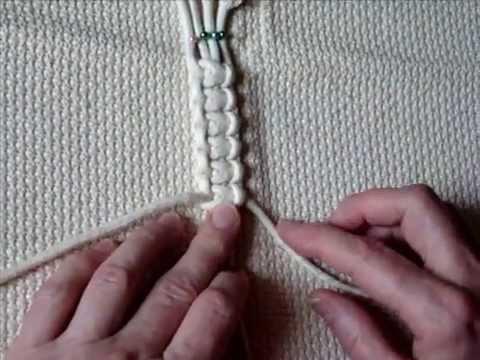 Узлы макраме Плоские узлы