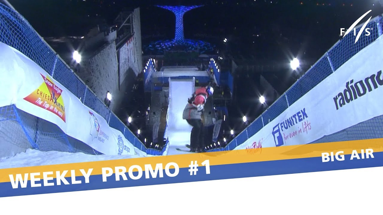 Milan To Bring Down The Curtain With Ski Big Air | FIS Freeski