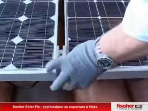 fischer Solar fix slīpiem jumtiem