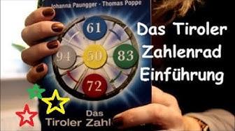 Das Tiroler Zahlenrad / Das Geheimnis Deiner Geburtszahlen / Einführung / SanjaNatur