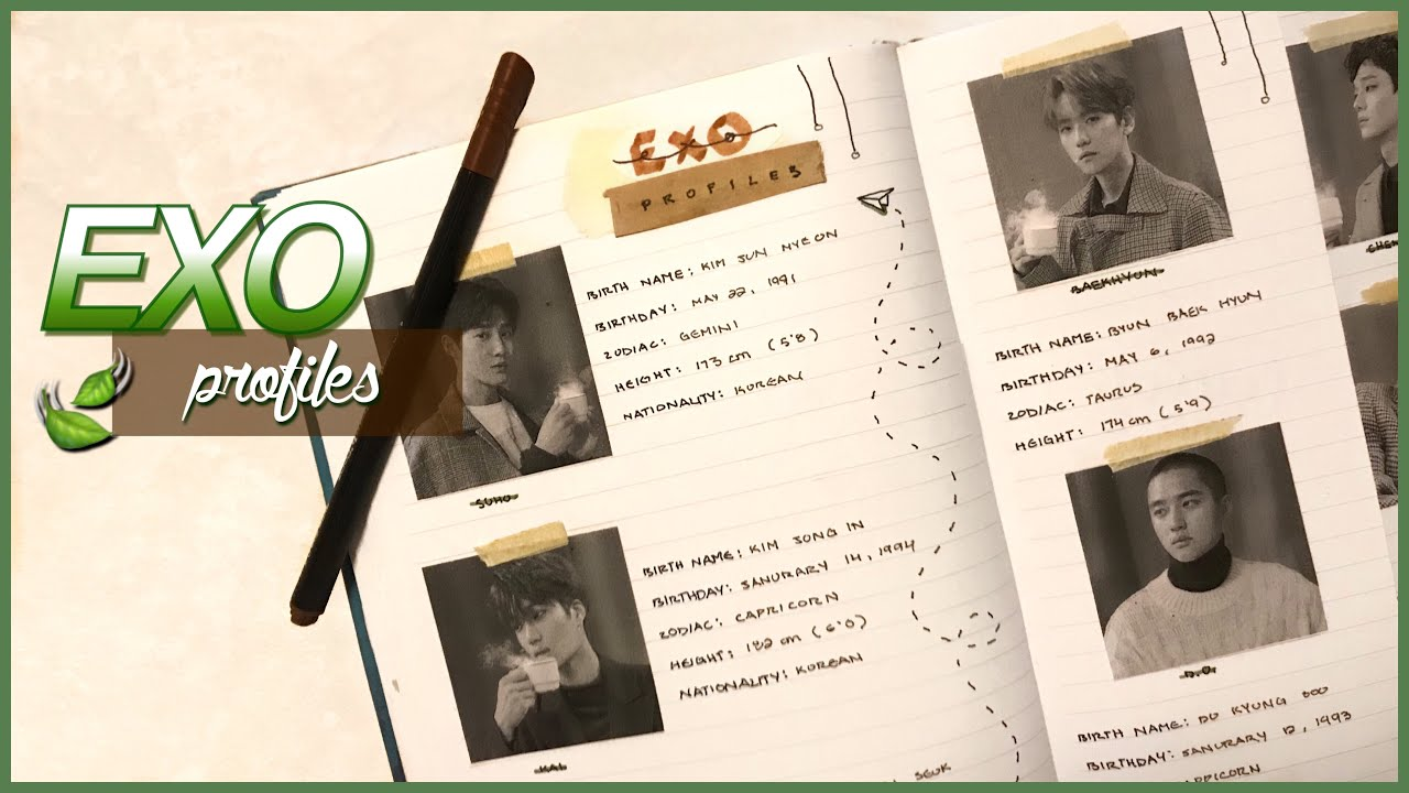 Kpop Journal With Me Exo Profiles Youtube In 2008, luhan auditioned for jyp through a global audition in china, but did not pass. youtube
