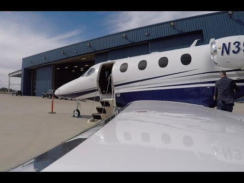 Premier 1 Driver flies VFR....Gary Indiana to Indy Exec in a private jet
